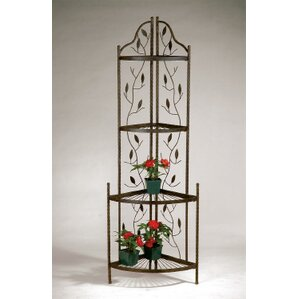 Corner Baker's Rack by Deer Park Ironworks