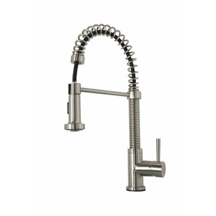 Virtu USA Arvia Pull Down Single Handle Kitchen Faucet