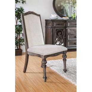 Abbottstown Transitional Side Chair (Set of 2) August Grove