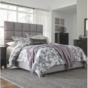 Gomes King Upholstered Panel Bed