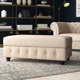 Quitaque Upholstered Storage Bench byGreyleigh
