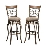 Calvo 29 Swivel Bar Stool (Set of 2) by Fleur De Lis Living