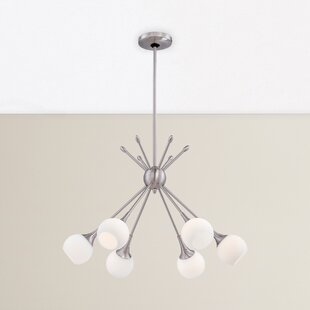 Langley Street Drexler 6-Light Chandelier
