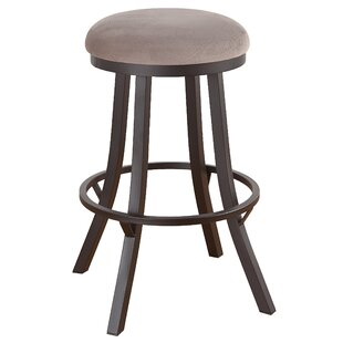 Howie 26 Swivel Bar Stool Red Barrel Studio