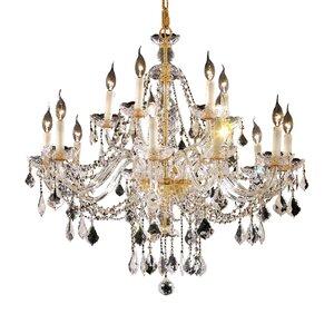 Schroeppel 12-Light Crystal Chandelier