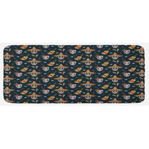 Spicy Hot Chili Pepper Kitchen Rug Mat Multi 18x30 Inches