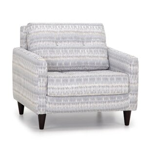 Gray Print Accent Chair Wayfair