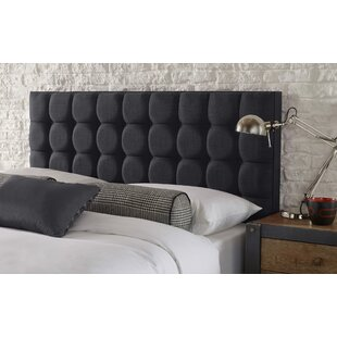 Hampden Linen Upholstered Headboard By Mercury Row