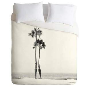 East Urban Home Two Palms Duvet Cover Set