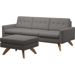 Great Price Luna Loft Sofa and Ottoman by TrueModern Reviews (2019) & Buyer's Guide