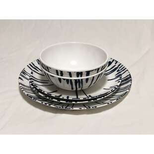Kellyville 24 Piece Melamine Dinnerware Set, Service for 8