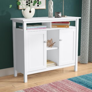 """Perreira 42"""" Console Table by Andover Mills SKU:DD363898 Details"""