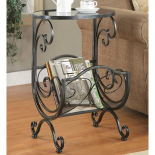 Ellenton End Table by Fleur De Lis Living