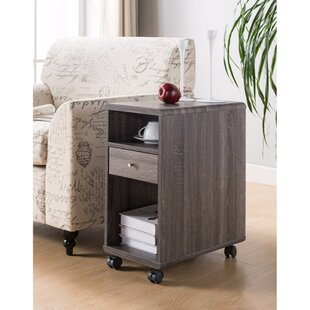 Wallach Spacious End Table with Storage by Latitude Run