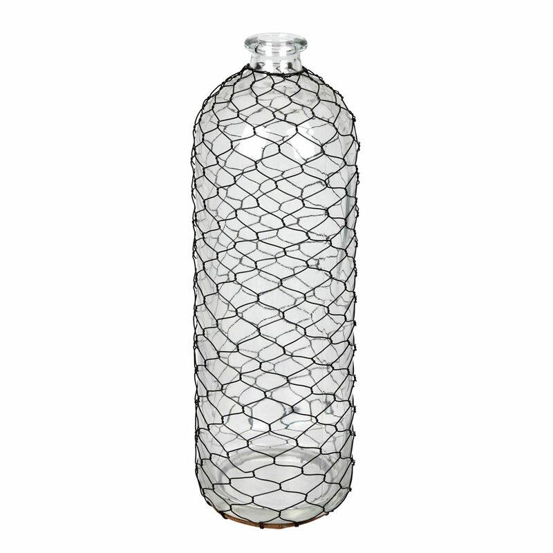 Longshore Tides Haas Black 16 Glass Table Vase Reviews Wayfair