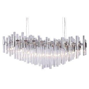 Kellum 20-Light Sputnik Chandelier by Everly Quinn