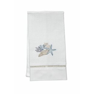 Shell 100% Cotton Hand Towel