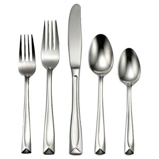Lincoln 20 Piece Casual Flatware Set, Service for 4