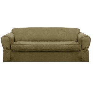 Best Reviews Bearup Barras Box Cushion Sofa Slipcover by Darby Home Co Reviews (2019) & Buyer's Guide