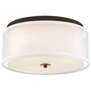 Friedman 3-Light Flush Mount