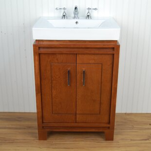 Bartone 24 Vitreous Ensemble Bathroom Vanity Set by D'Vontz