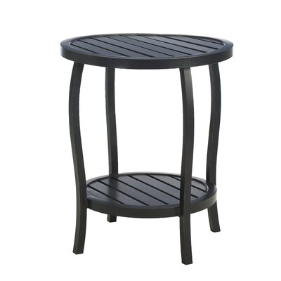 Cottage Metal Side Table by Summer Classics Modern