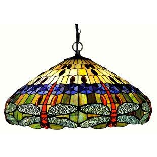Astoria Grand Malloway 3-Light Inverted Pendant