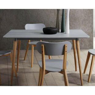 Kaeden Wooden Dining Table by George Oliver Comparison