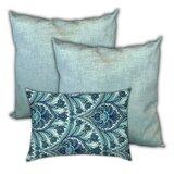 Allyce Taj Mahal Skies Indoor / Outdoor Pillow Cover