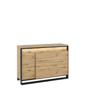 Vanburen 4 Drawers Combi Chest By Mercury Row