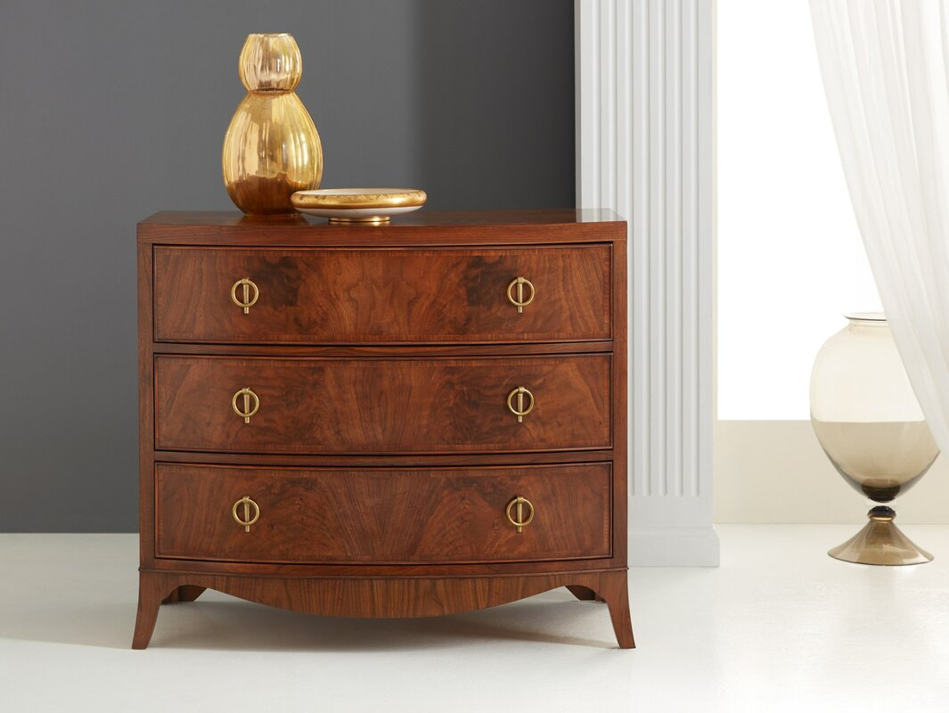 Bowfront Nightstand Reviews Perigold