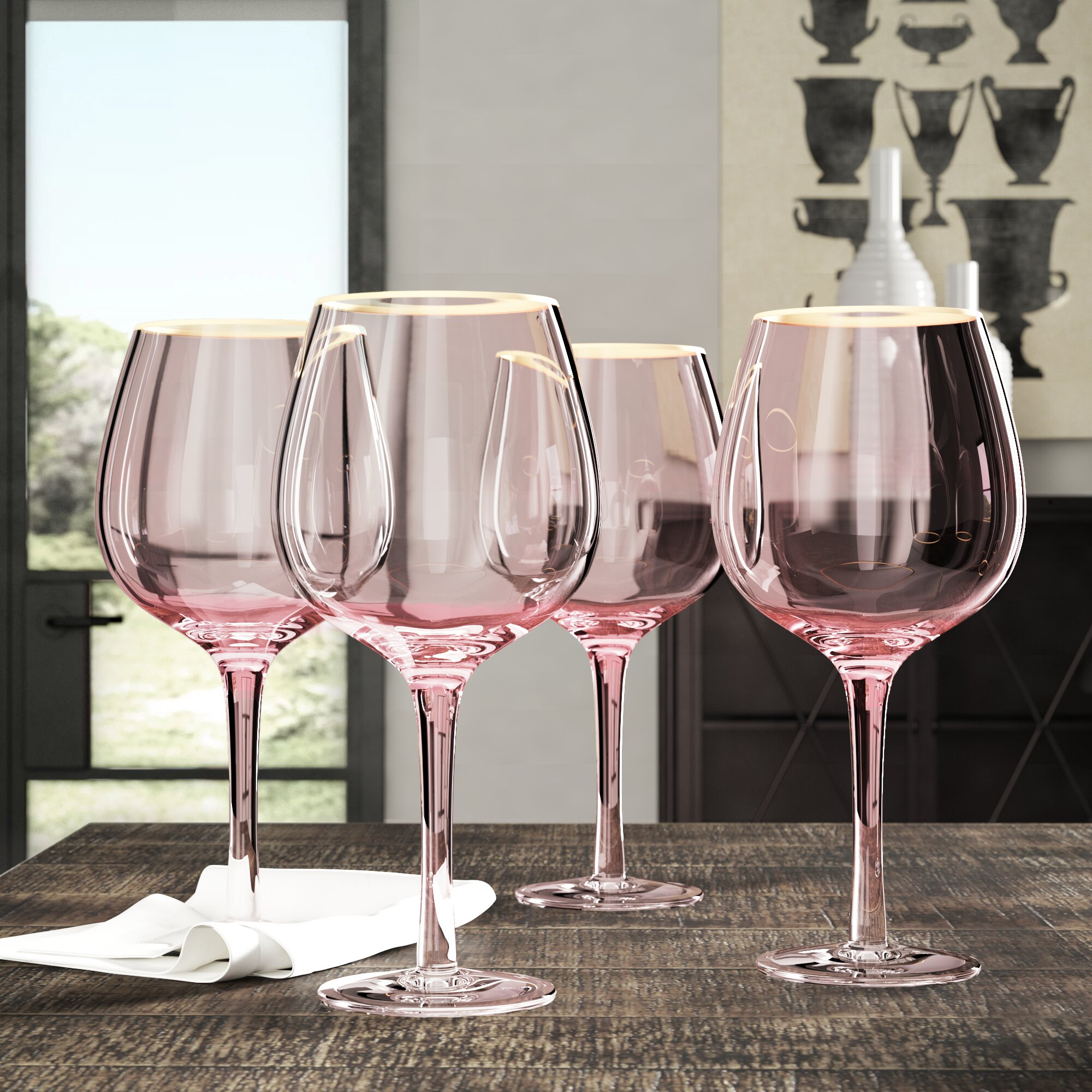 House Of Hampton Morena 25 Oz Red Wine Glass Reviews Wayfair