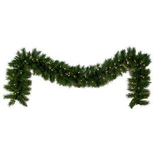 Dunhill Fir Prelit Holiday Garland