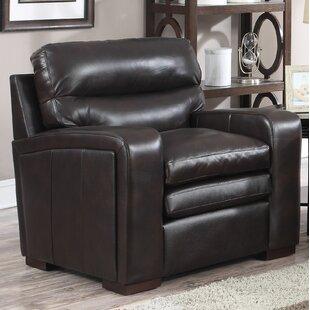 Latitude Run Womac Leather Club Chair