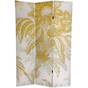 August Grove Jakob 3 Panel Room Divider