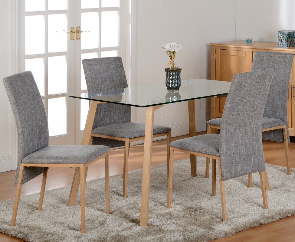 Riley Ave. Reba Dining Table And 4 Chairs & Reviews
