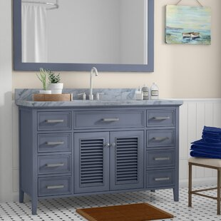 Hamil 55 Single Bathroom Vanity with Mirror by Highland Dunes