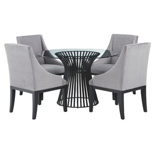 Dungannon 5 Piece Pub Table Set Brayden Studio