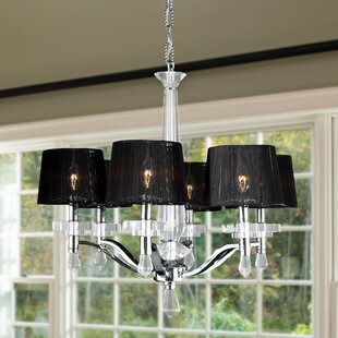 Roni 6-Light Shaded Chandelier By Rosdorf Park