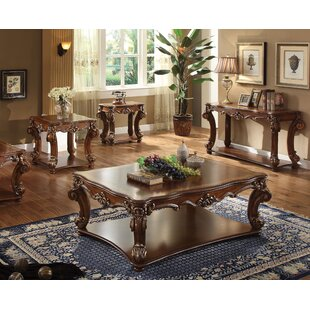 Astoria Grand Welles 4 Piece Coffee Table Set