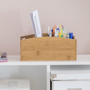 Brodie Bamboo Desk Organiser By Natur Pur