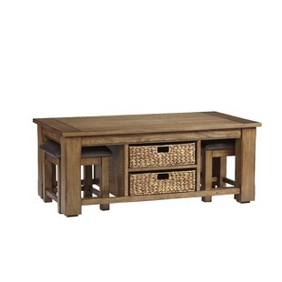 Read Reviews Croyle 3 Piece Coffee Table Set By Breakwater Bay