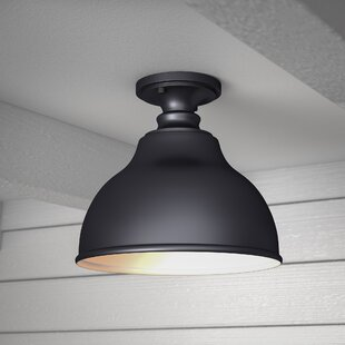 Great choice Lavardin 1-Light Outdoor Semi Flush Mount By Laurel Foundry Modern Farmhouse