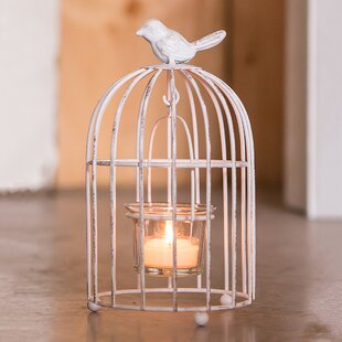 3 Piece Birdcage Metal Tealight