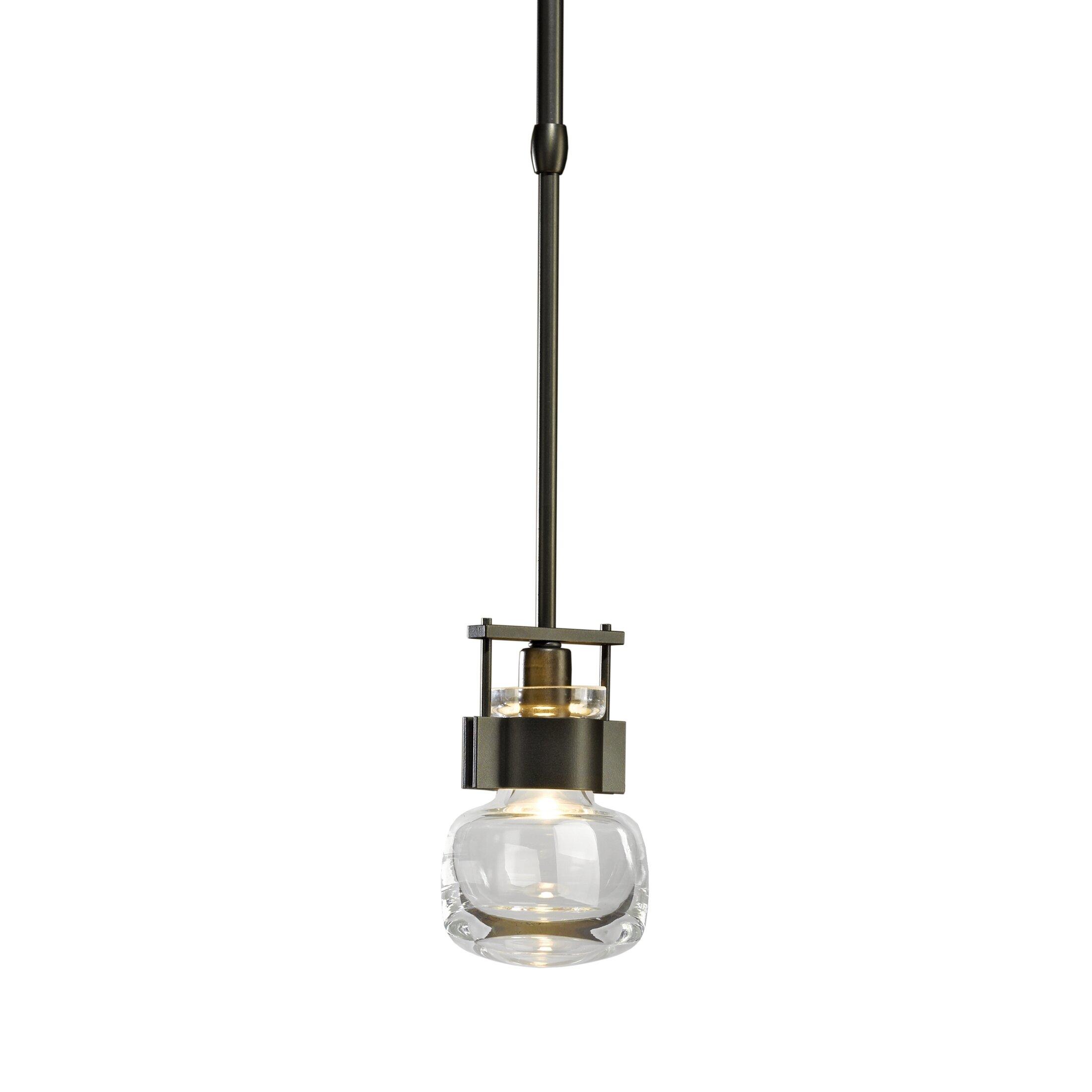 Hubbardton Forge Cuff 1 Light Single Jar Pendant Wayfair