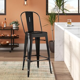 Ashlyn 30 Metal Framed Bar Stool Williston Forge