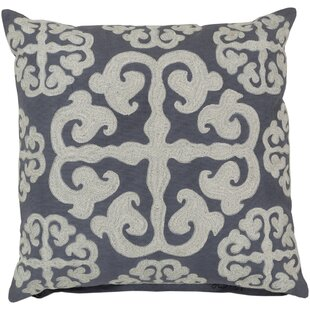 Lush Lattice Throw Pillow
