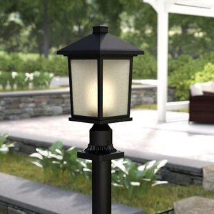 Savarese Outdoor 1-Light Pier Mount Light by Winston Porter