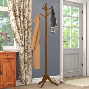 Andover Mills Traditional Wood Coat Stand
