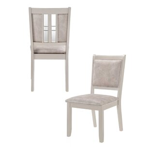 Inexpensive Mccasland Upholstered Dining Chair (Set of 2) by House of Hampton Reviews (2019) & Buyer's Guide